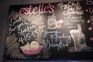 Estelle's Chalkboard