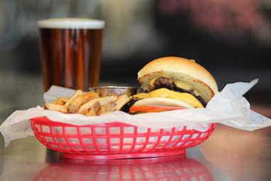 Estelle's Double Trouble Burger