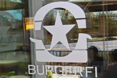 BurgerFi Atlanta door