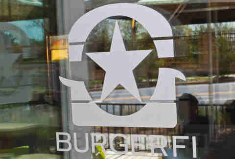 BurgerFi Atlanta door
