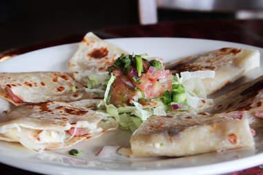 Quesadillas at Pepe's Ranch, Deep Ellum, Dallas TX