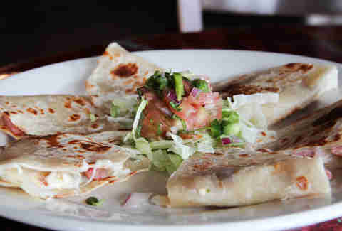 Quesadillas at Pepe's Ranch, Deep Ellum, Dallas TX