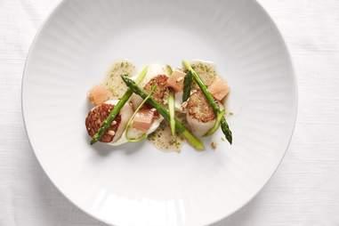 Azur sea scallops