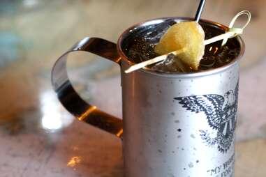 Anchor's Down Ballard Sailor Mule cocktail