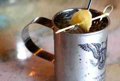 Anchor's Down Ballard Sailor Mule cocktail