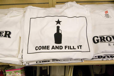 come and fill it beer t shirt at Growler Room