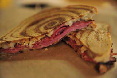 reueben sandwich at refuel