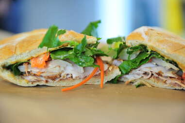 banh mi sandwich at refuel