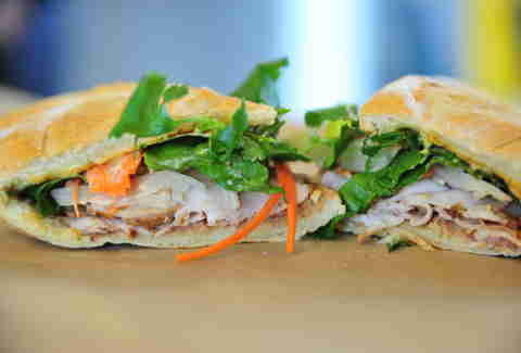 banh mi sandwich at refuel