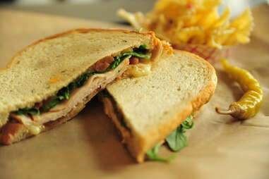 Chris Mullin sandwich at refuel