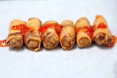 Fun Guyz Food Trolley spring rolls