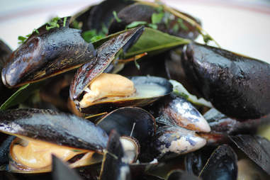 Le Diplomate Mussels