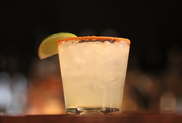 Barbecue and smoked jalapeno margaritas in Lower Nob Hill