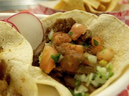 Tacos from Sol Mexican Grill and Cantina