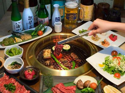 The table at Gyu-Kaku