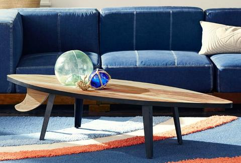 surf lounge table from pbteen