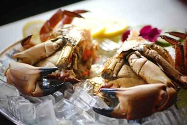 split crab at Crab is King