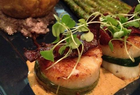 Scallops at Waters