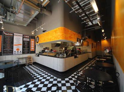 The interior at Tacos, Nachos & Beer