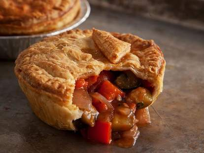 Pie at Bronzed Aussie