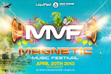 Magnetic Music Festival flyer