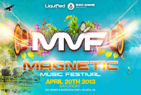 Magnetic Music Festival flyer