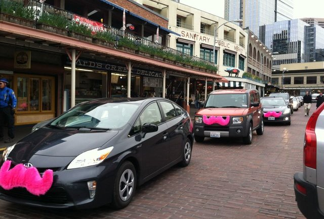 A whimsical ride-share service