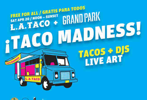 Taco madness in Los Angeles