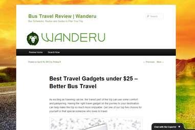 Wanderu.com review page