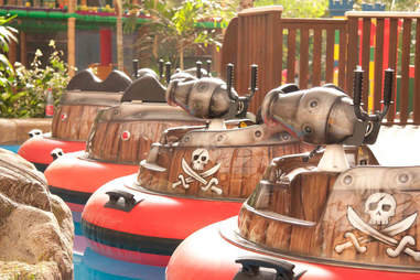 Tropical Islands Bumper Boats