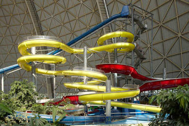 Tropical Islands Waterslides