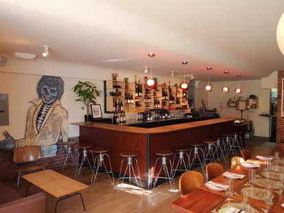 The bar at 20 Spot