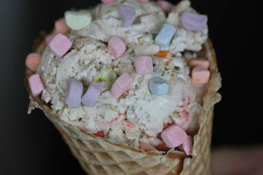 Lucky Charms ice cream at Sweet Cow