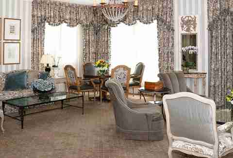 Interior of room at Hotel Monteleone