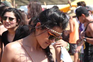 Girl at Coachella 2013