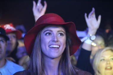 A girl at Coachella 2013
