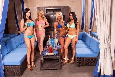 Sapphire Pool & Day Club -- bottle service