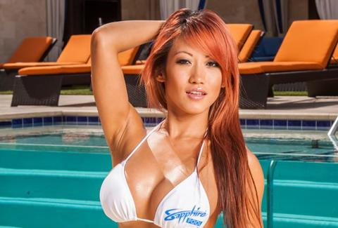 Sapphire Pool & Day Club -- Girl in bikini