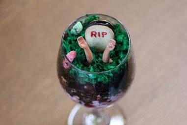 Buried Alive parfait at Horror Brunch