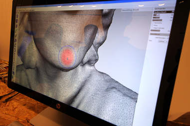 3D scan at The 3D Printer Experience in River North