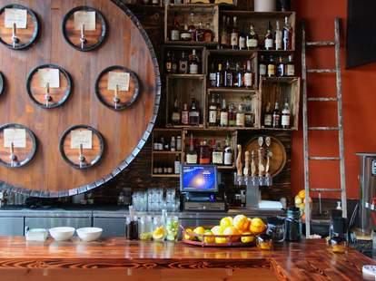 Bar at Radiator Whiskey