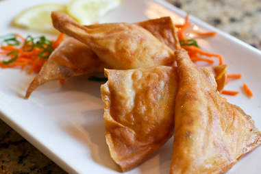 Chow Bing - Lobster Philly Wontons