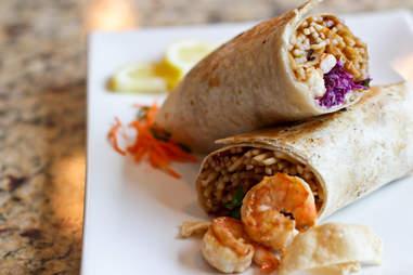 Chow Bing - Shrimp Bing Roll