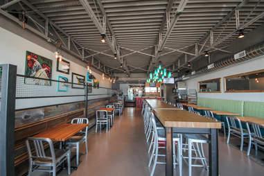 Interior at Haystack Burgers & Barley