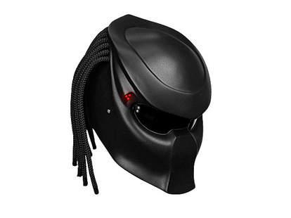 black Predator helmet