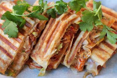 Korean paratha panini at En Hakkore