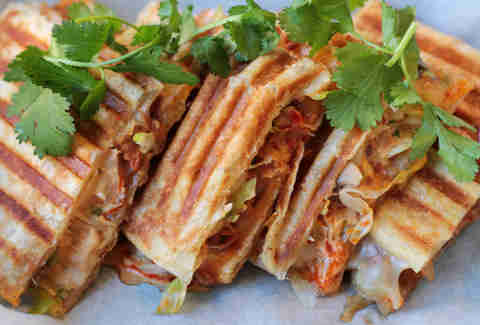Korean paratha panini at En Hakkore