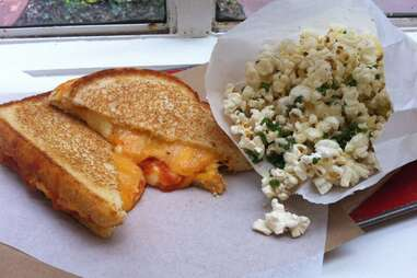 Grilled cheese at Grahamwich