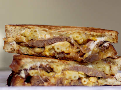 Brisket grilled cheese at Meltkraft