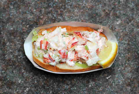 The Cod Squad Lobster Roll